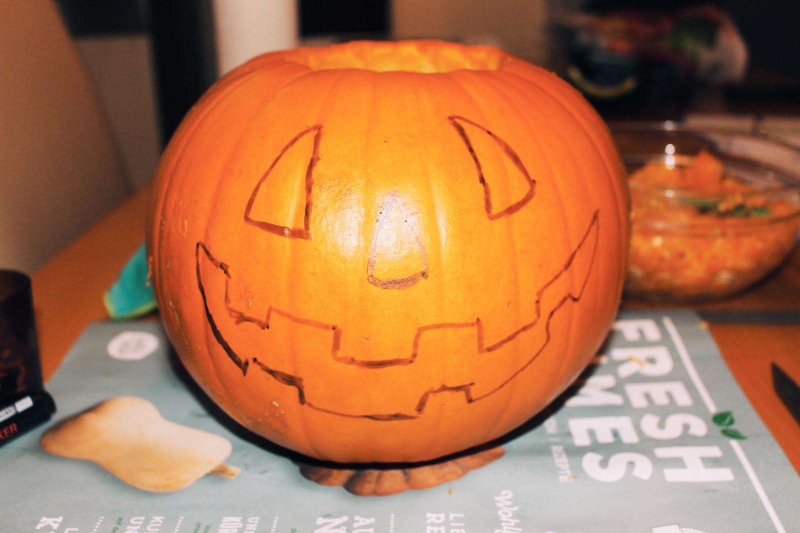 DIY: Halloween Kürbis - More about Danie - Lifestyleblog aus Österreich