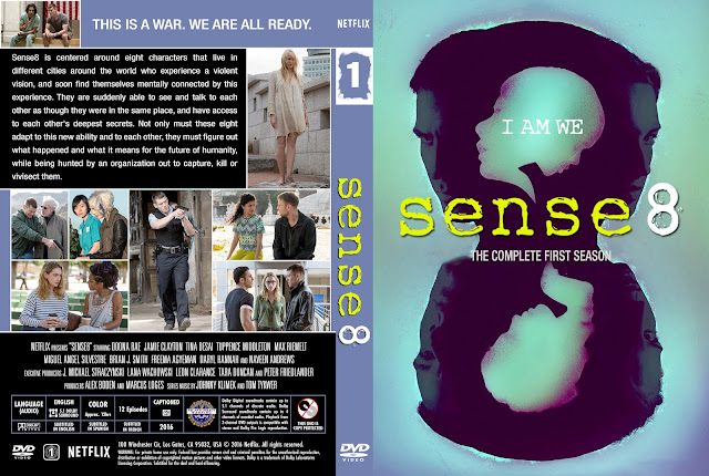 Sense 8 Season 1 DVD Cover
