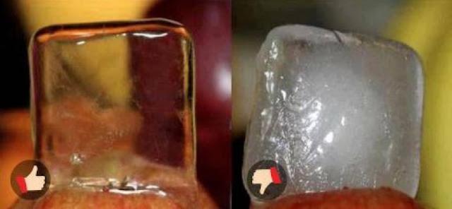 Waspada Saat Beli Es! Ini Cara Mudah Membedakan Es Batu Air Mentah dan Matang