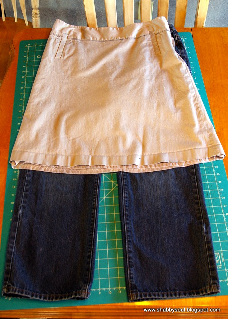 Jeans To Skirt Tutorial 69