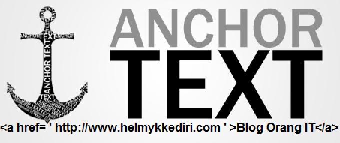 Manfaat anchor text bagi SEO dan cara menggunakannya - Blog Orang IT