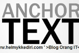 Manfaat anchor text bagi SEO