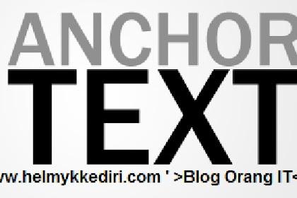 Manfaat anchor text bagi SEO