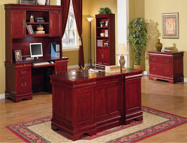 best buy wood cherry home office desk red sets for sale online