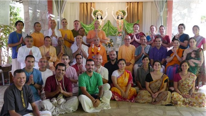 Future Leaders of ISKCON Trained at GBC College in Brazil