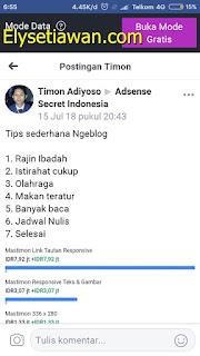 tips yang dibagikan mastimon timon adiyoso
