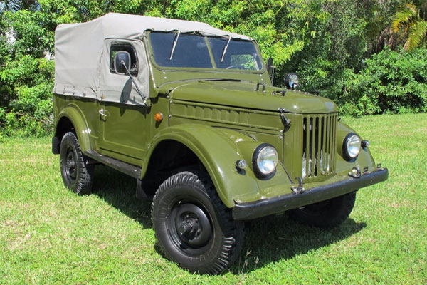 Rare 1971 GAZ 69M All Terrain Vehicle