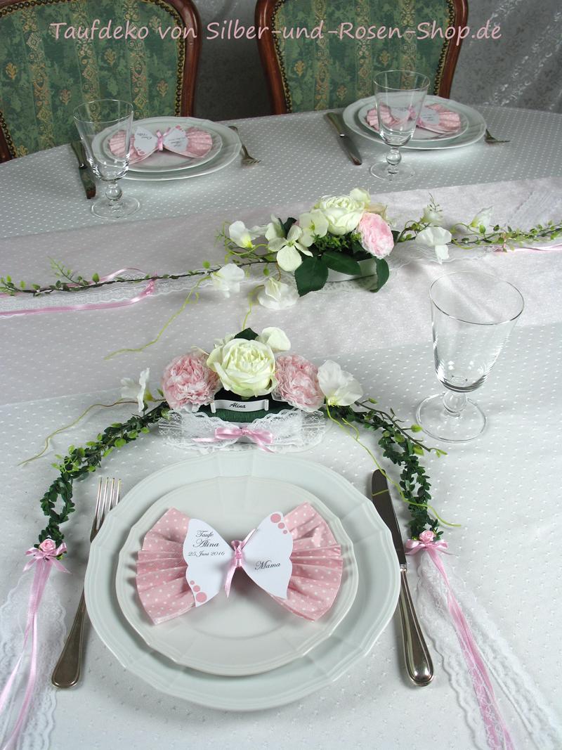 Silber rosen: neues im silber und rosen shop: baby tischdeko ...