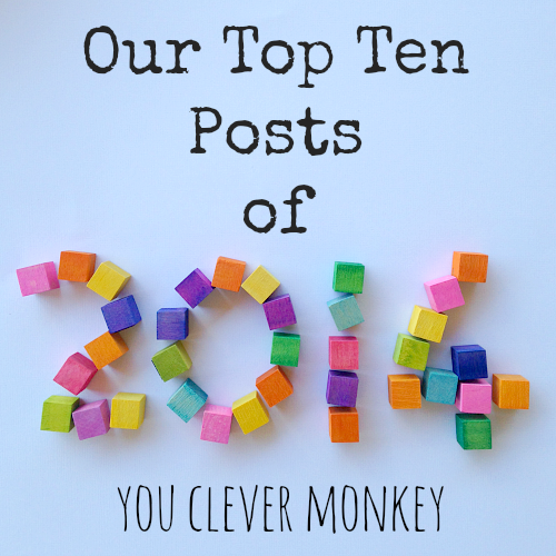 The top ten most viewed posts from 2014 on www.youclevermonkey.com