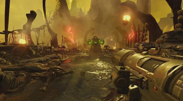 Se revela la duración de la campaña del nuevo título de Doom 1