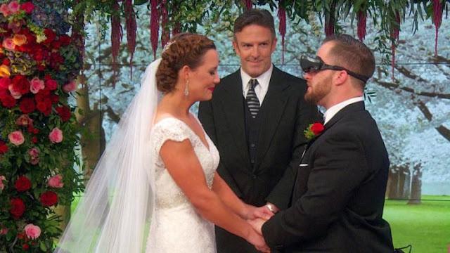 Hombre ciego ve a su novia por primera vez con estos lentes especiales; le pide matrimonio