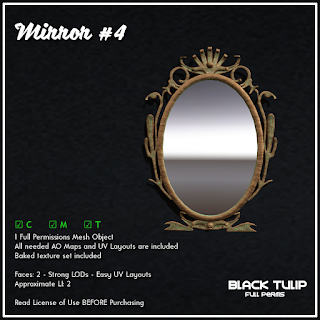 [Black Tulip] Mesh - Mirror #4