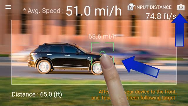 تطبيق لتحويل هاتفك الى رادار قوي لقياس سرعة الاجسام - 10 مليون تحميل في المتجر
