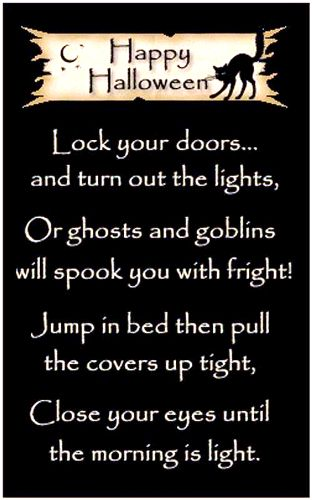 Scariest adult halloween poems confirm. join