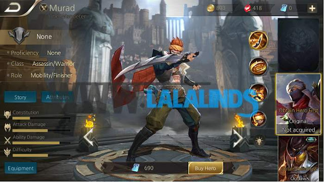 Download Arena Of Valor AOV Thailand 1.18.1.1 English Patch Full APK