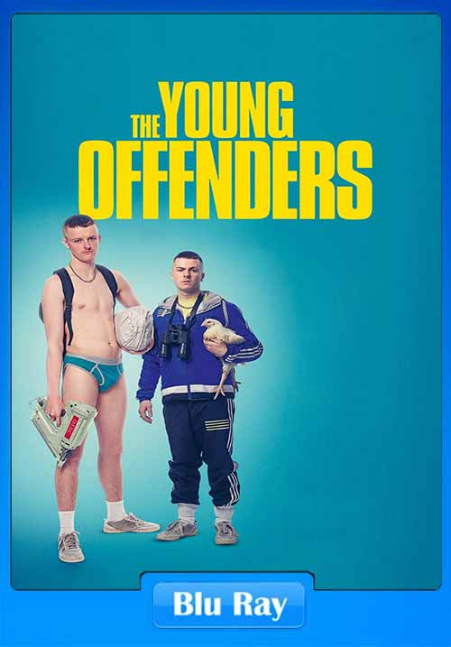 The Young Offenders 2016 720p BRRip 750MB x264 Poster