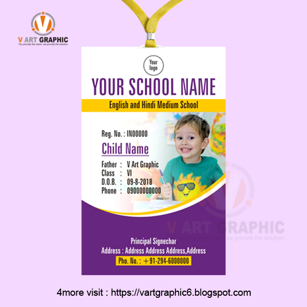 school id card design maker online freelance graphic design online