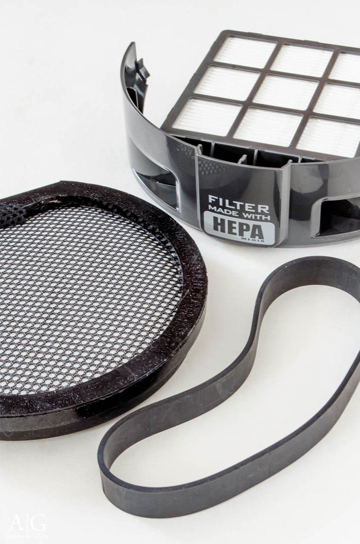 Replacing the filters and belt on your vacuum cleaner can help it run more efficiently.  ||  Steps to cleaning your vacuum cleaner at www.andersonandgrant.com