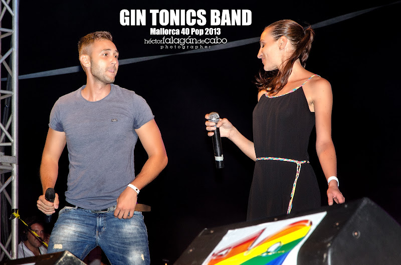 Gin Tonics Band en el Mallorca 40 Pop 2013. Héctor Falagán De Cabo | hfilms & photography.