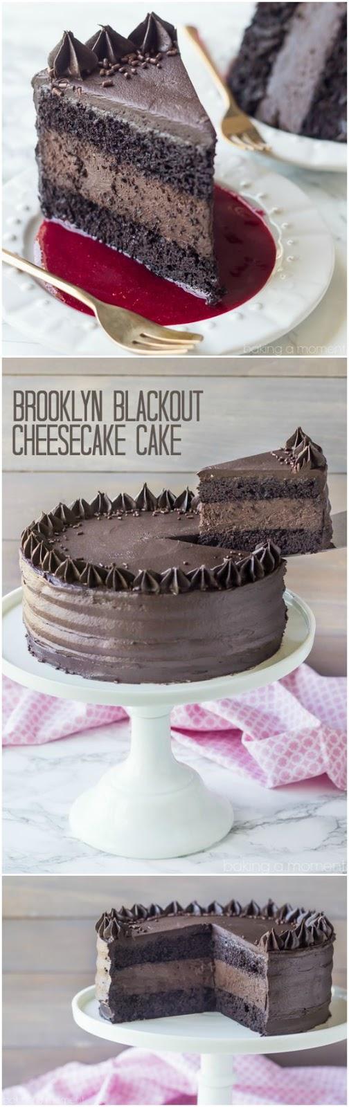 Brooklyn Blackout Cheesecake Cake #Brooklyn #Blackoputcake #Cheesecake #Browncake #deleciouscake #Bestcake #Favoritecake #USA #Italaincake #Indiancake #Denmarkcake