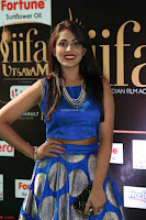 Madhu Shalini Looks Super Cute Slim trim Blue Choli Ghagra IIFA Utsavam Awards 35.JPG