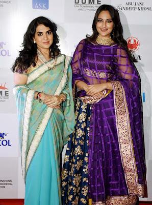 shaina-sonakshi-CPAA-Charity-fashion-show