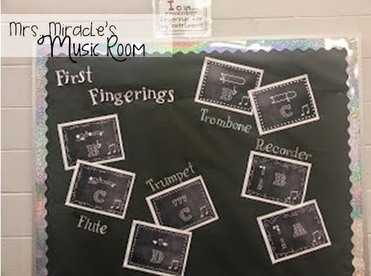 Bulletin board ideas for the music room: Great ideas for your music classroom!