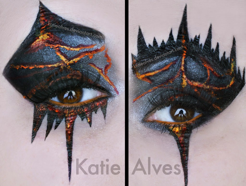 09-Seven-Deadly Sins-Wrath-Katie-Alves-Makeup Paint Effects-www-designstack-co