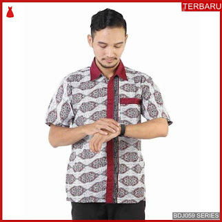BDJ59K44 Kemeja Batik 0067 Terbaru BMGShop