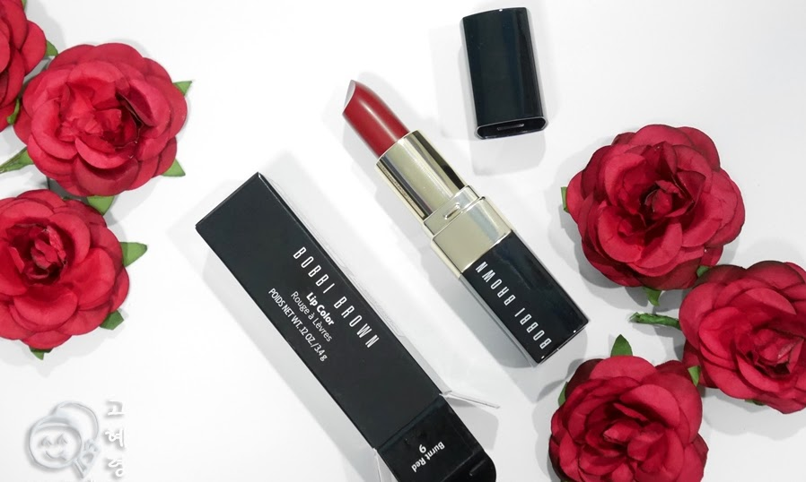 Bobbi Brown's Burnt Red Lipstick: Review