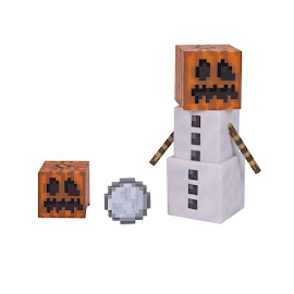 Minecraft Series 3 Snow Golem Overworld Figure