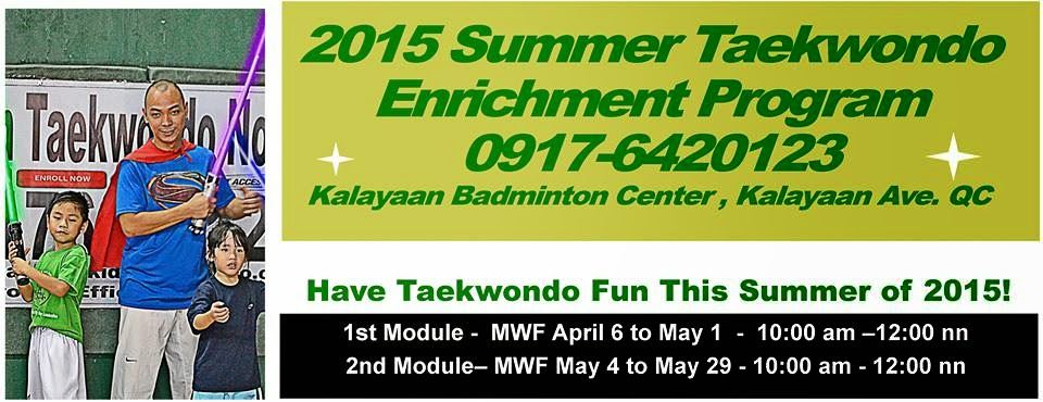 2015 Summer Workshops, Lessons, Activities, Classes and Sports Clinics for Kids in Metro Manila