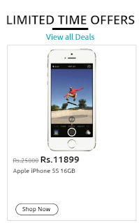 Apple IPhone 5S offer