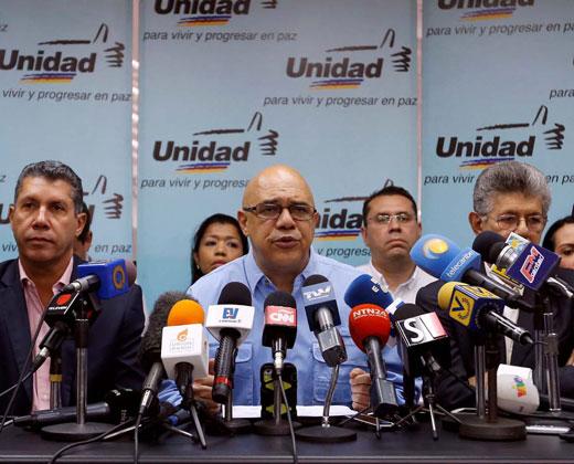 Meterse con la inmunidad parlamentaria es una agresión a la democracia, dice la MUD