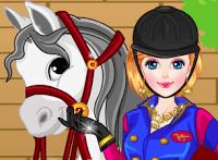 تلبيس سارة وحصانها