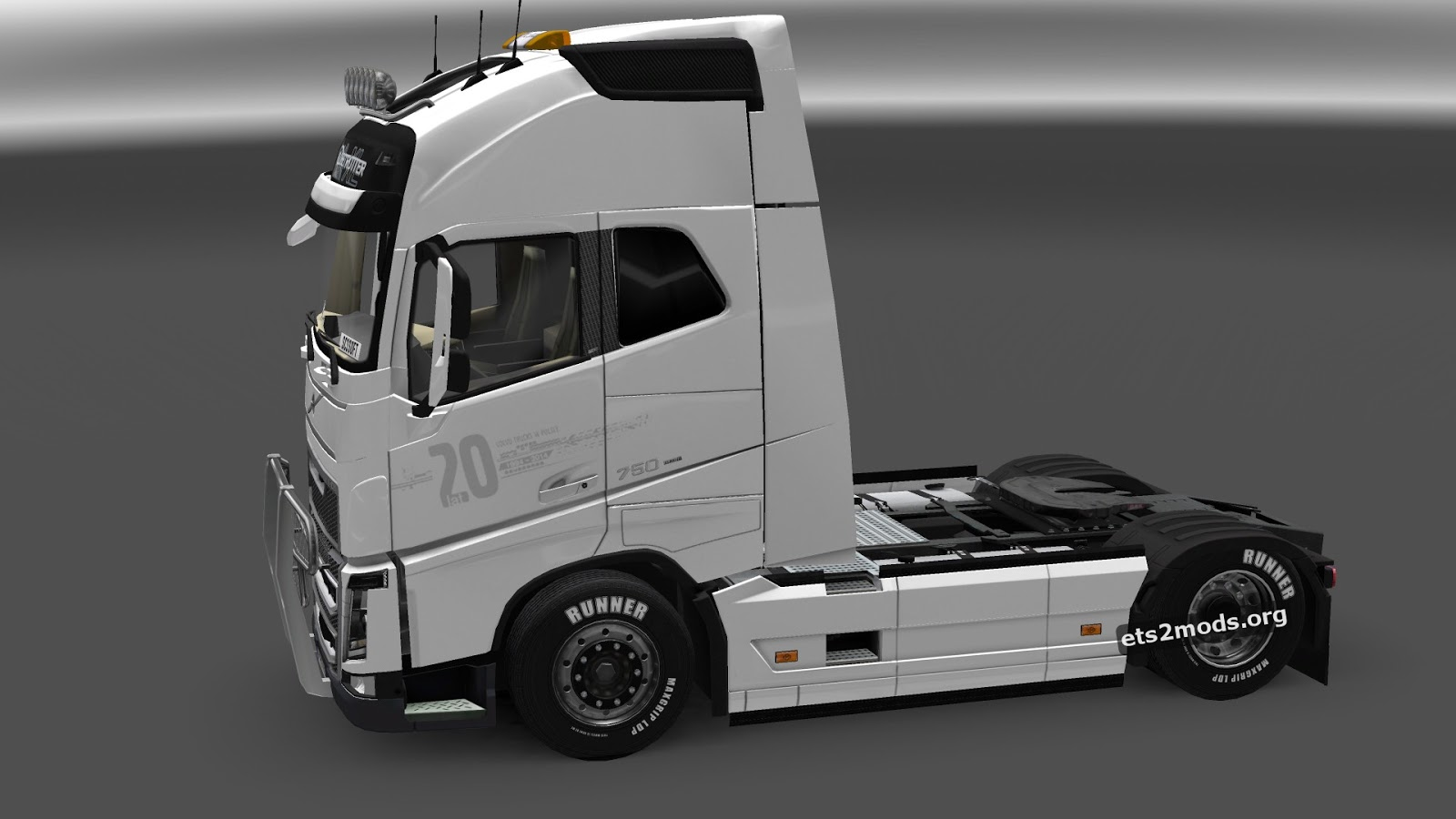 New parts for Volvo FH 2012