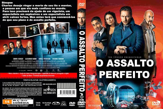 Capa DVD O Assalto Perfeito