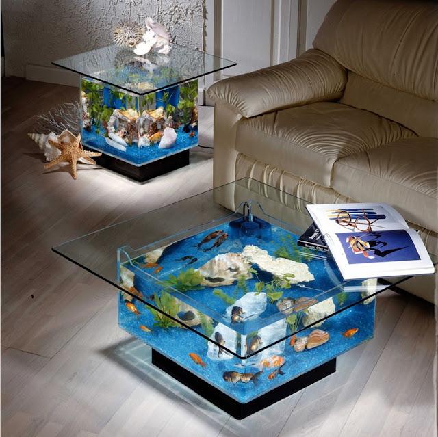 Desain Akuarium Ruang Tamu  galleri aquarium untuk interior rumah anda istana aquarium