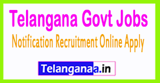 Telangana Govt Jobs Online Application