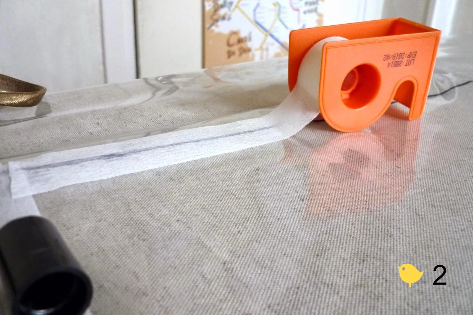 tuto 3 le cas sparadrap coudre du plastique bleu par viviane s. Black Bedroom Furniture Sets. Home Design Ideas