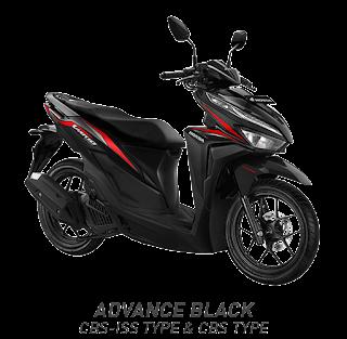 Vario 125 ESP CBS ISS - Vigor Black 2018 Anisa Naga Mas Motor Klaten Dealer Asli Resmi Astra Honda Motor Klaten Boyolali Solo Jogja Wonogiri Sragen Karanganyar Magelang Jawa Tengah.