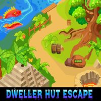 Games4King Dweller Hut Escape Walkthrough