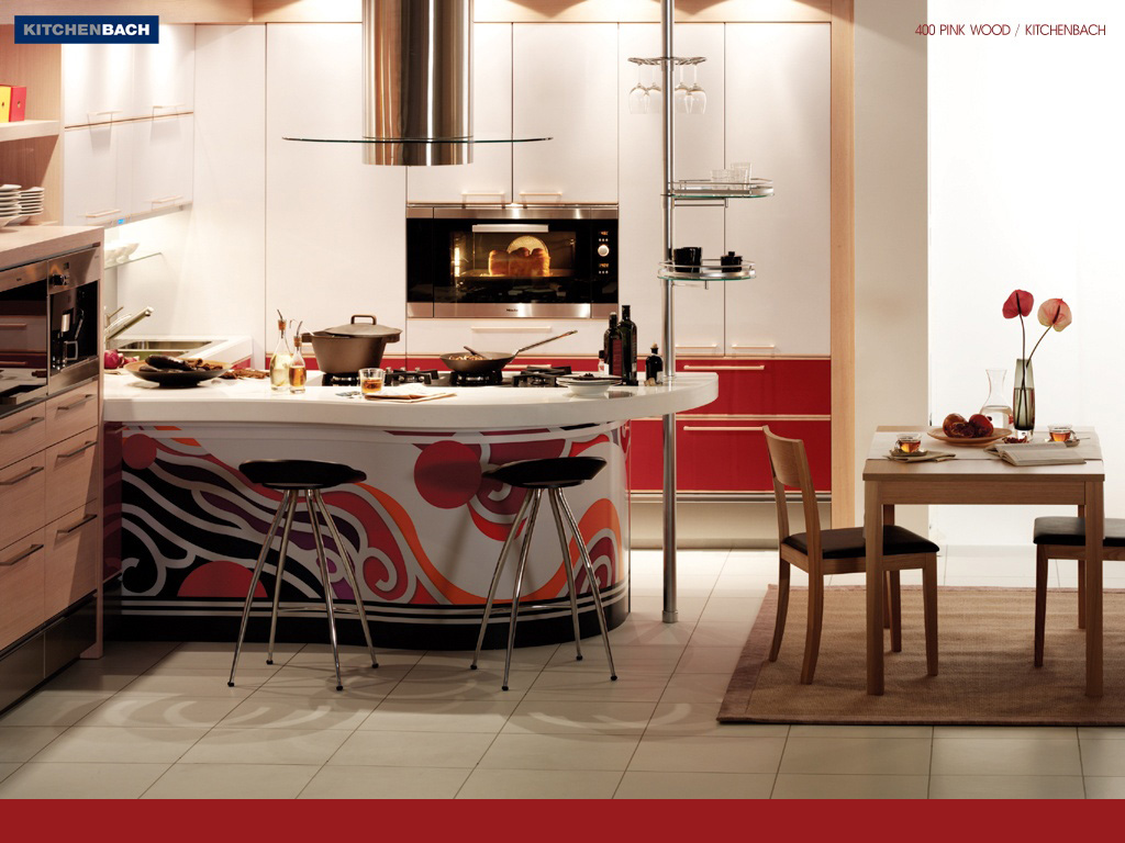 trendy kitchen wallpaper bar tables beautiful wallpapers interior
