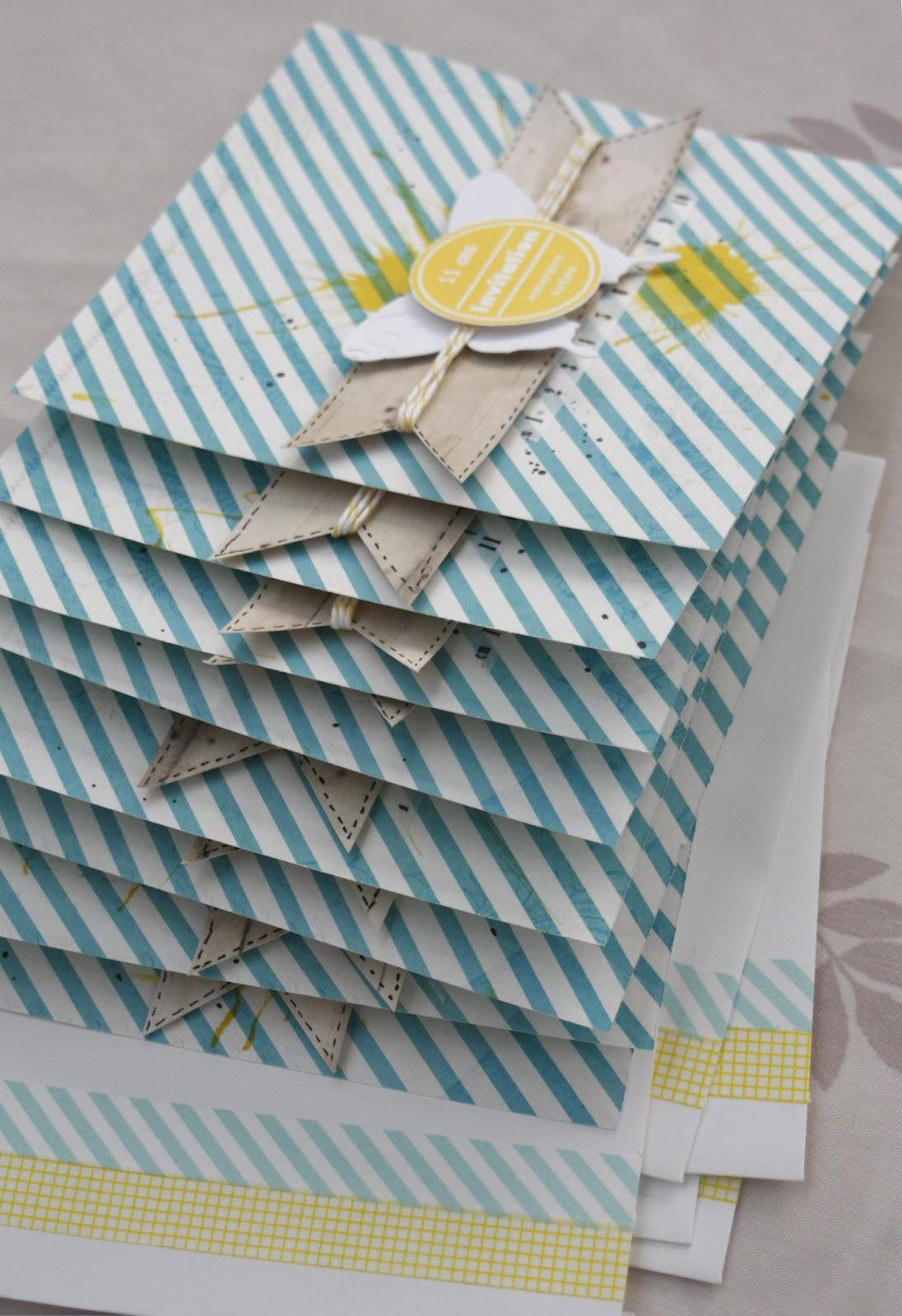 Scrap Plaisir : le scrap de shannon91: ** Cartes d'invitation pour l'anniversaire de ma fille ...