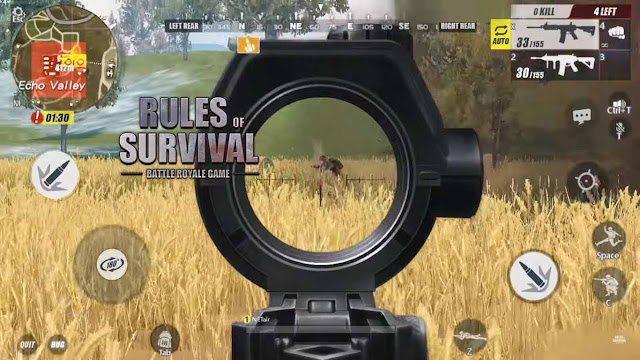 free Download Rules of Survival MOD APK + OBB Unlimited Money