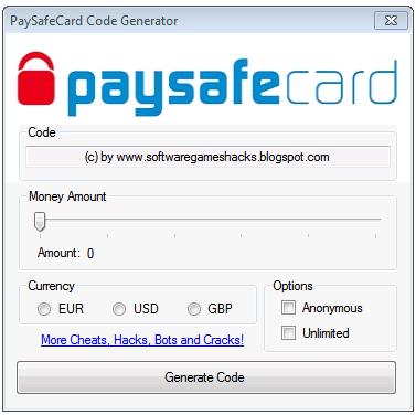 GГјltige Paysafecard Codes