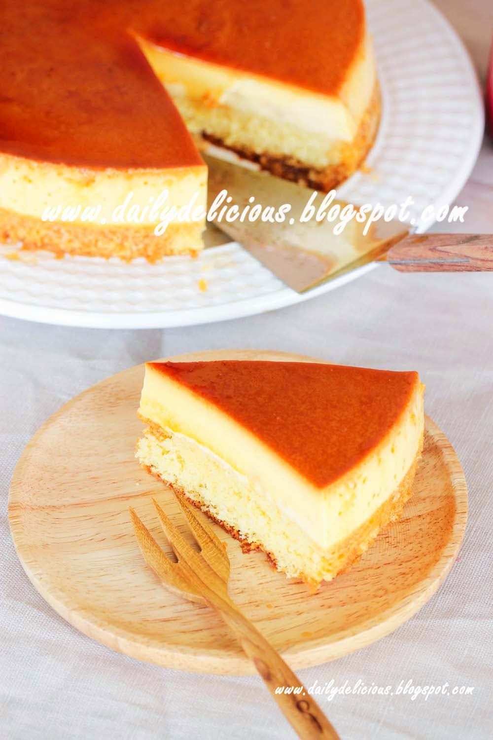 Dailydelicious Custard Cake Soft And Comforting Cake