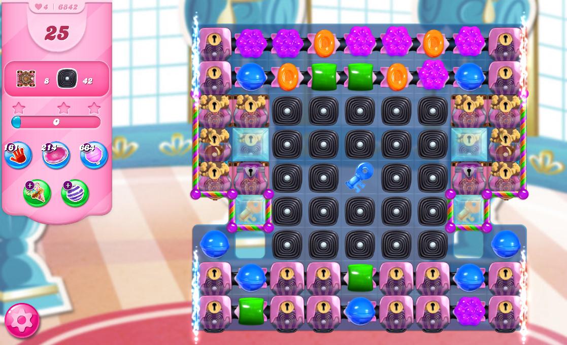Candy Crush Saga level 6842