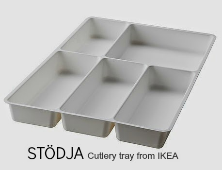 STODJA  Cutlery Tray From Ikea