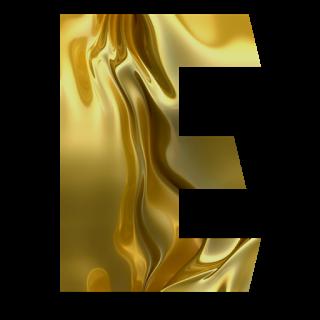 Letras de Oro. Golden Letters.